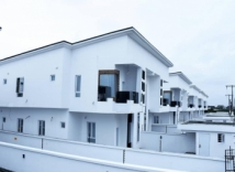 NEWLY BUILT 4 BEDROOM SEMIDETACHED FAMILY HOME WITH A BQ BUILT ON 300SQM LAND AT OSAPA ESTATE LEKKI, OSAPA LONDON AREA LAGOS!!!